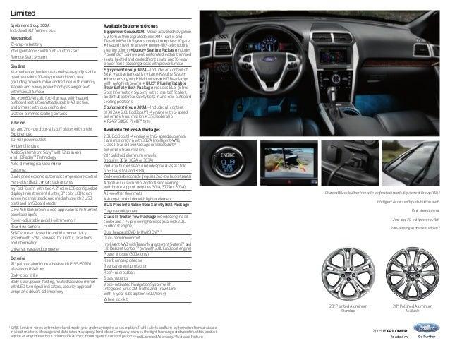 Sync Services Subscription >> 2015 Ford Explorer Brochure | Ford Dealer Farmington NM