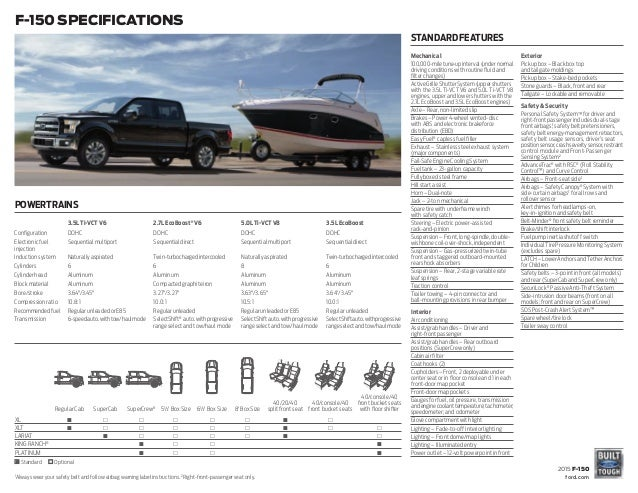 Ford Dealership Indianapolis >> 2015 Ford F150 Information Brochure- Bloomington Ford, a Dealership F…