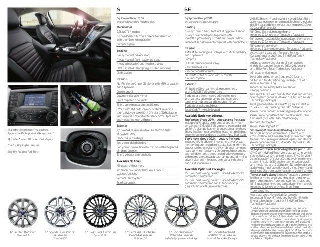 2015 Ford Fusion Brochure | Farmington NM Ford Dealer
