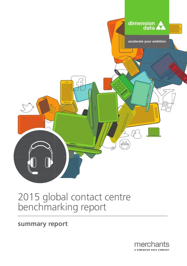 summary report 2015 global contact centre benchmarking report