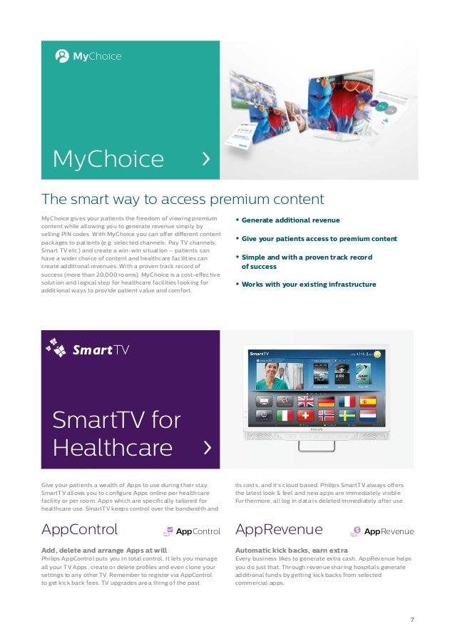 2015 Philips Healthcare TV Brochure