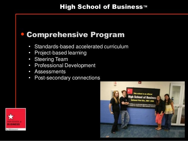 high school business courses Whether you pursue a college business major or open your own business, taking business-related courses in high school helps you learn more about aspects of business high school business courses can help in building a sense of accountability, leadership and teamwork as you learn more about how businesses operate.