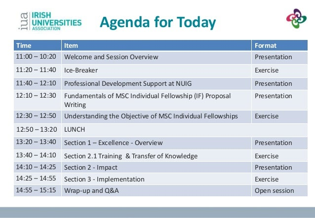 Lovely Sample Training Agenda