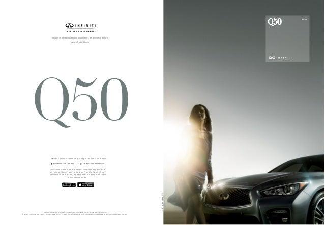 infiniti q50 brochure