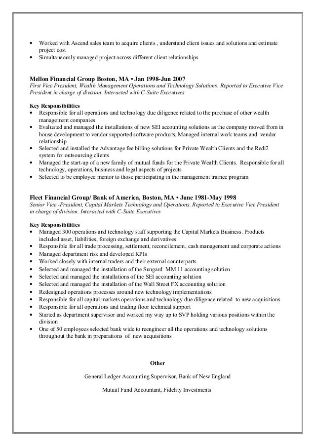 resume worked in sales
