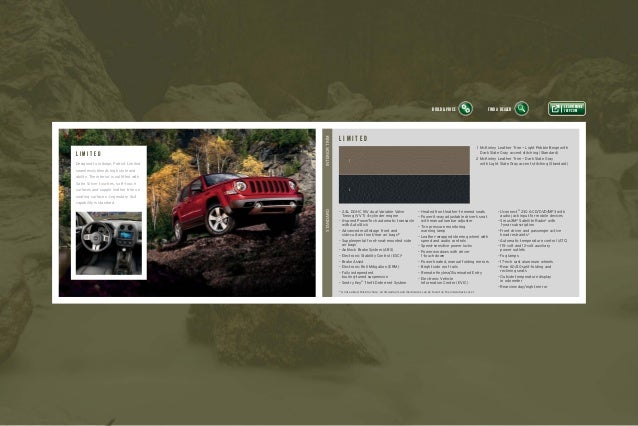 2015 Jeep Patriot Vehicle Brochure Courtesy Of Nj Jeep Dealer