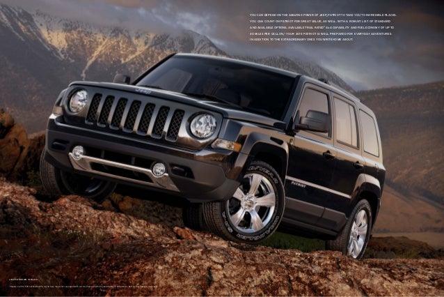 2015 jeep patriot vehicle brochure courtesy of nj jeep dealer. Black Bedroom Furniture Sets. Home Design Ideas