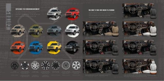 2015 Jeep Renegade Details El Paso Albuquerque Dealers