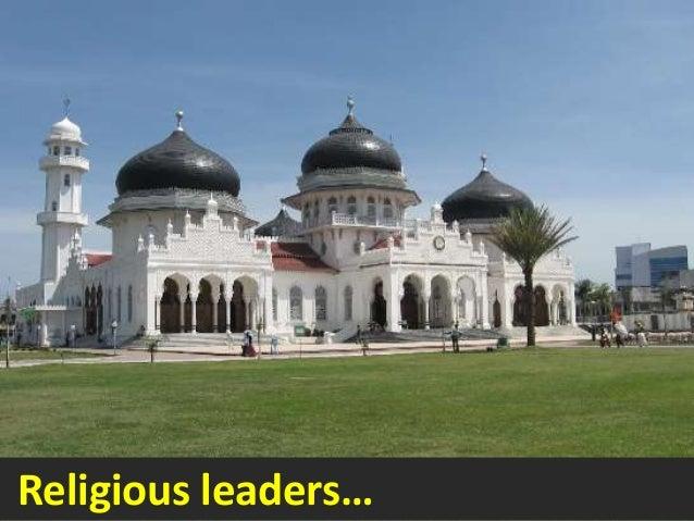 Religious leaders…