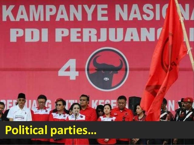Political parties…