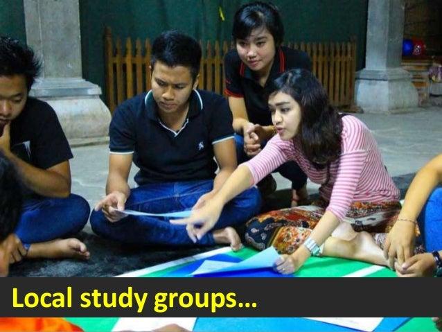 Local study groups…