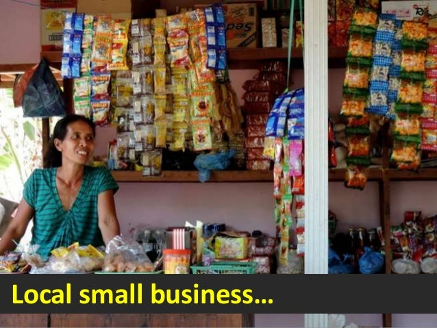 Local small business…