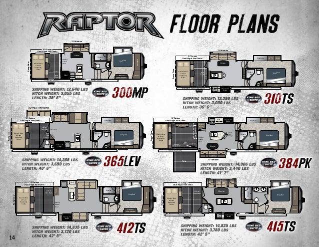 2015 Keystone Raptor Toy Hauler