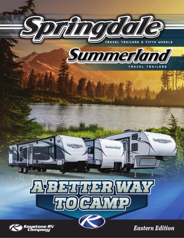2015 Keystone Springdale - Summerland Travel Trailers & Fifth Wheels