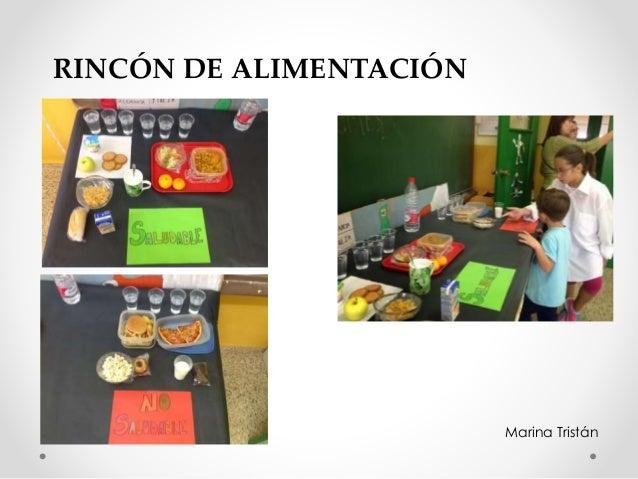 RINCÓN DE ALIMENTACIÓN Marina Tristán