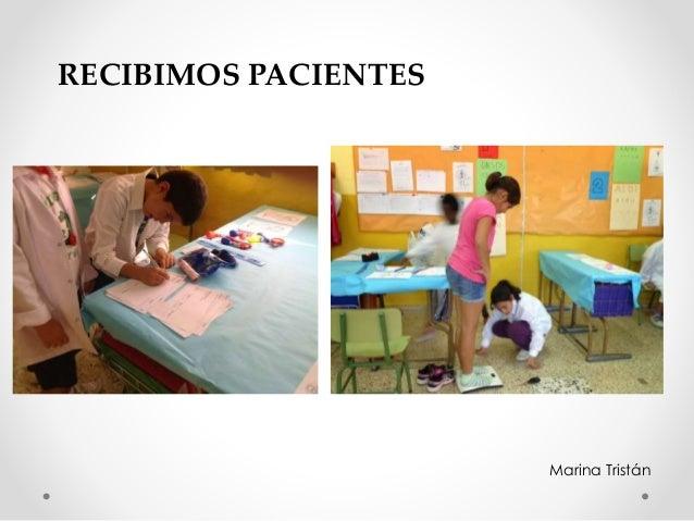 RECIBIMOS PACIENTES Marina Tristán