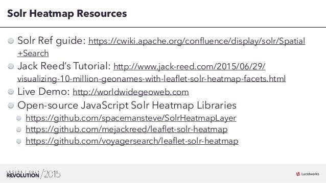 Leaflet Heatmap Example