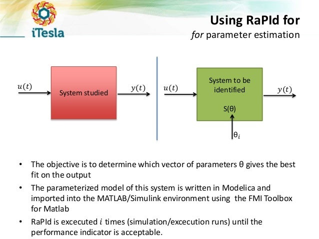 The RaPId Toolbox for Parameter Identification and Model