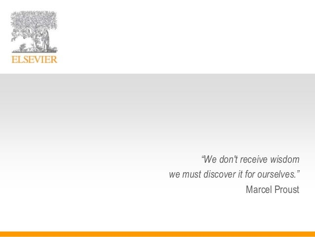 """We don't receive wisdom we must discover it for ourselves."" Marcel Proust"