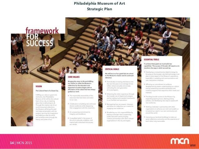 Philadelphia Museum of Art Strategic Plan MCN 201514 WW