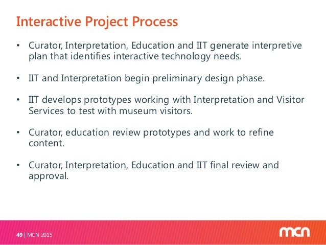 Funding Projects MCN 201551 • Special exhibition projects funded as part of overall exhibit budget. • Development liaison....