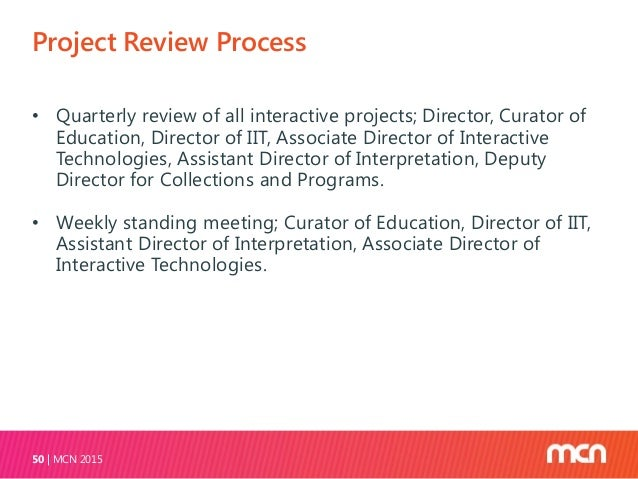 Working with the Subject Experts MCN 201552 All projects, large and small, go through the same process ‒ A brief project d...