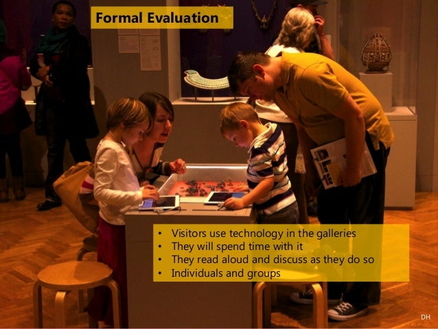 • People who used the technology spent more time in the exhibit than those that did not use it (even after subtracting the...