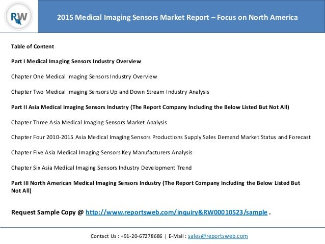 Medical imaging sensors industry global investment feasibility study 3 sciox Image collections