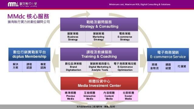 【MMdc 服務】MMdc 媒體投資中心服務 V 2.4 Slide 2