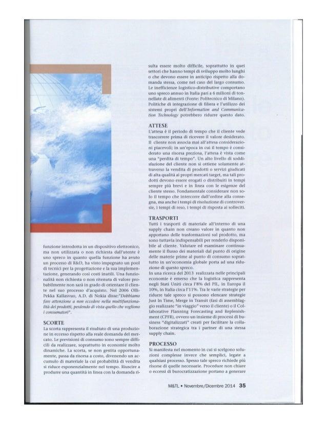 LEAN MARKETING: GLI SPRECHI NELLE STRATEGIE DI MARKETING Slide 2