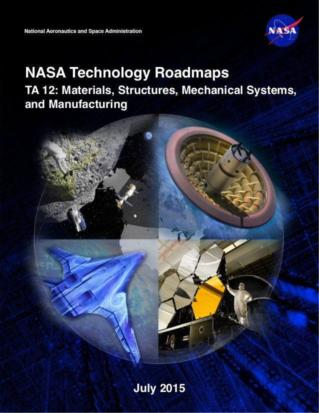 NASA Technology Roadmaps TA 12: Materials, Structures, Mechanical Systems, and Manufacturing July 2015