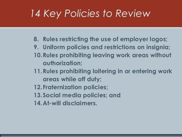 Workplace Rules For Business Owners & Employees