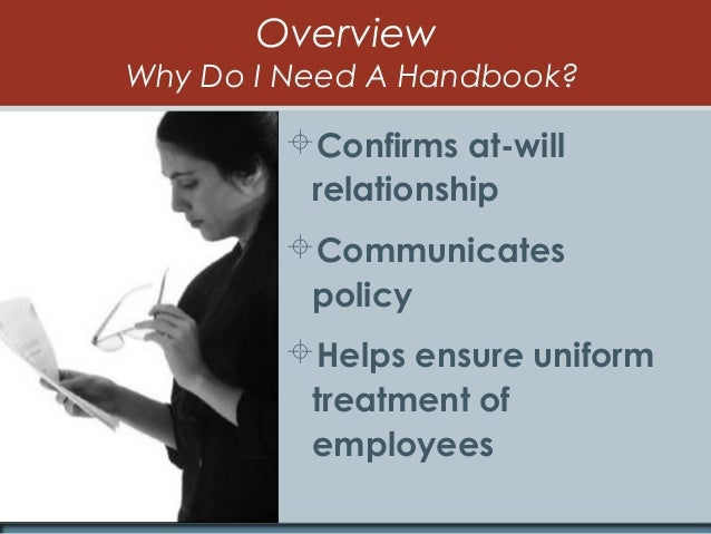 Is your employee handbook up to date? Essential components and sampl…