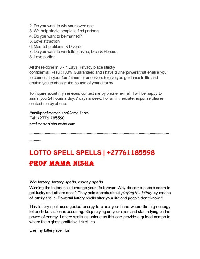 No 1 Lost Love Spell Caster With 100% GUARANTEED RESULTS | +277611855…