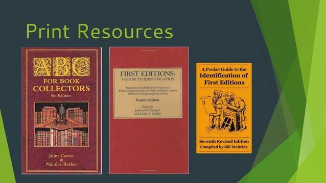 Print Resources