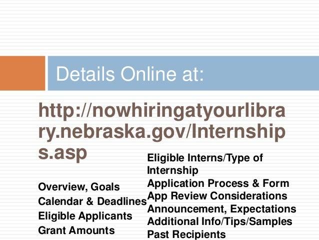 NCompass Live: 2016 Nebraska Library Internship Grant Program
