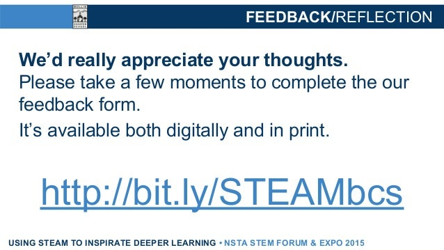 Using STEAM to Inspire Deeper Learning