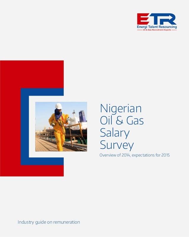 Nigerian Oil & Gas Salary Survey 2015