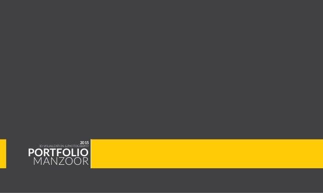 cover page design for portfolio