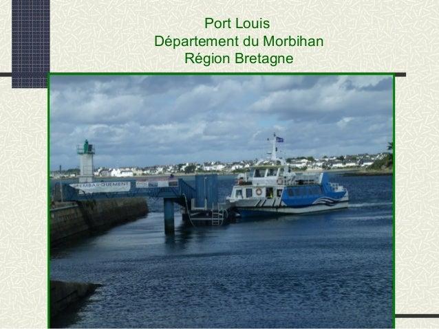 Port Louis Département du Morbihan Région Bretagne