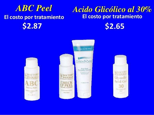 1. Documentación Fotográfica 2. Diagnóstico 3. Check Up Peel – Jabón de Acido Glicólico al 20% 4. Apha Beta Complex Gel (A...
