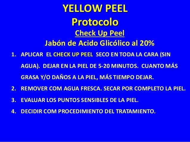 Apha Beta Complex Gel (ABC) O Gel de Acido Glicólico al 30% 1. APLICAR EL GEL DE ÁCIDO UTLIZANDO UNA BROCHA, DISTRIBUYÉNDO...