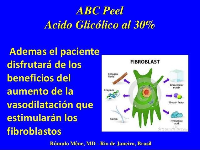 ABC Peel Acido Glicólico al 30% Rômulo Mêne, MD - Rio de Janeiro, Brasil