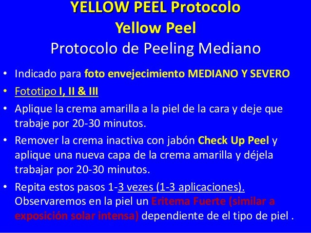 End Point of Medium Peel