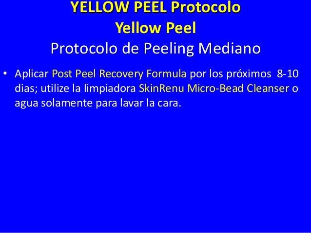 Tratamiento Professional – Yellow Peel Mediano Arrugas Medianas / Envejecimiento Mediano Fototipo III Yellow Peel 4-8 Trat...
