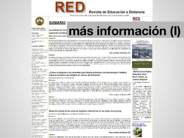 más información (I)