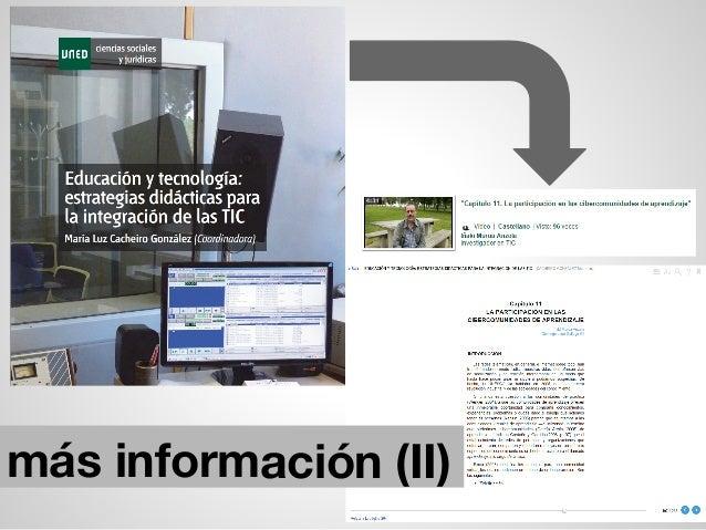 más información (II)