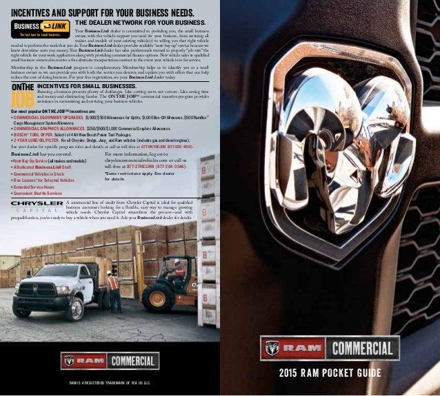 2015 Ram Commercial Specs Details. El Paso