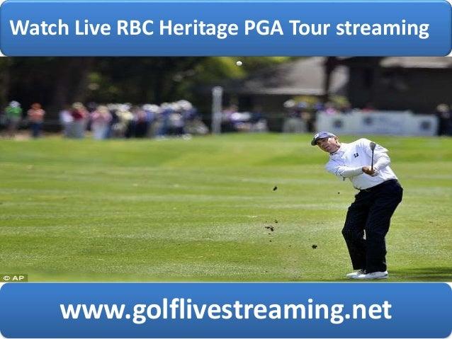 watch golf rbc heritage pga tour live