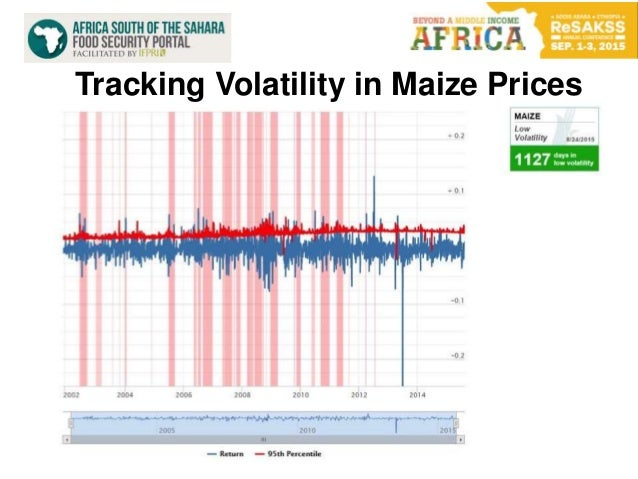 10 Tracking Volatility in Maize Prices